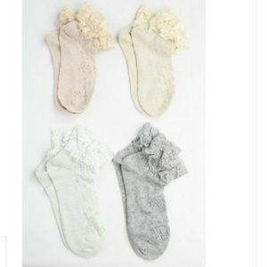 JUST IN! Delicate Lace Ankle Socks